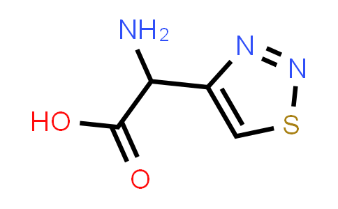 2-Amino-2-(1,2,3-thiadiazol-4-yl)acetic acid