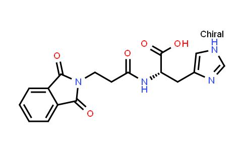 (S)-2-(3-(1,3-Dioxoisoindolin-2-yl)propanamido)-3-(1H-imidazol-4-yl)propanoic acid