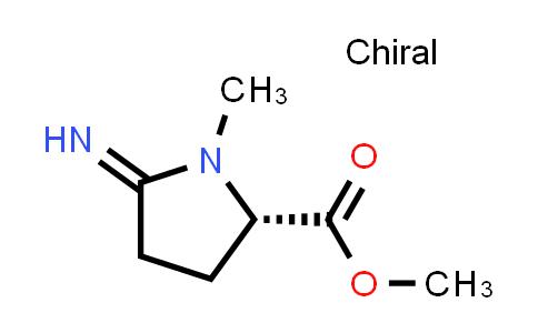 (S)-Methyl 5-imino-1-methylpyrrolidine-2-carboxylate