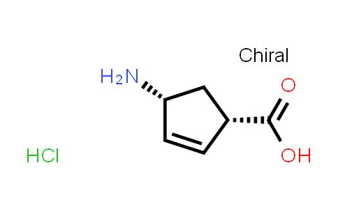 cis-4-Aminocyclopent-2-enecarboxylic acid hydrochloride