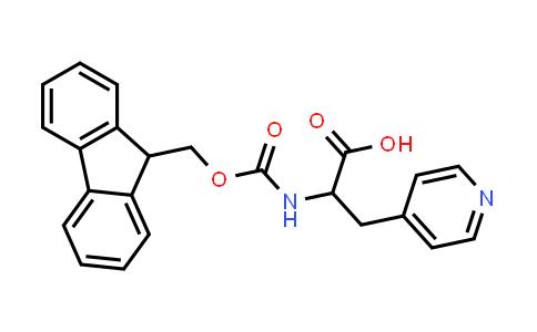 2-((((9H-Fluoren-9-yl)methoxy)carbonyl)amino)-3-(pyridin-4-yl)propanoic acid