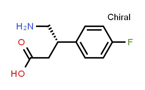 (S)-4-Amino-3-(4-fluorophenyl)butanoic acid