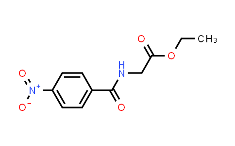 Ethyl 2-(4-nitrobenzamido)acetate