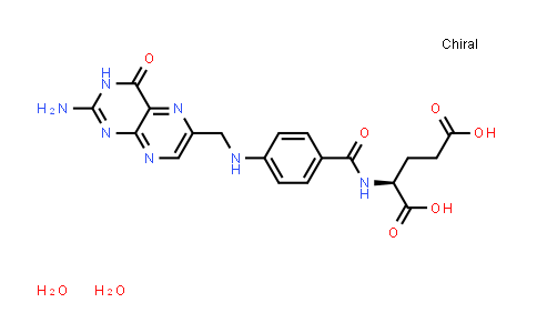 (S)-2-(4-(((2-Amino-4-oxo-3,4-dihydropteridin-6-yl)methyl)amino)benzamido)pentanedioic acid dihydrate