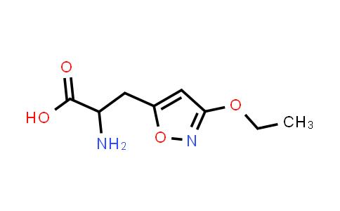 2-Amino-3-(3-ethoxyisoxazol-5-yl)propanoic acid
