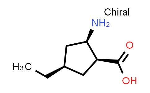 (1S,2R,4R)-2-Amino-4-ethylcyclopentanecarboxylic acid