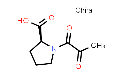 (S)-1-(2-Oxopropanoyl)pyrrolidine-2-carboxylic acid