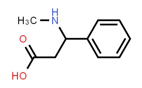 3-(Methylamino)-3-phenylpropanoic acid