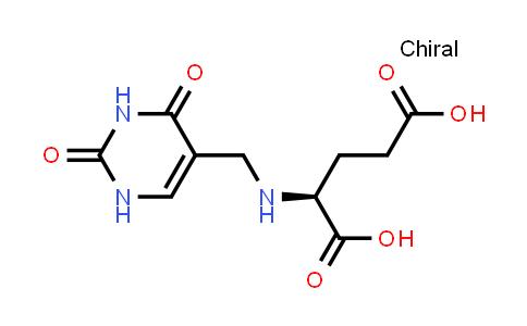 (S)-2-(((2,4-Dioxo-1,2,3,4-tetrahydropyrimidin-5-yl)methyl)amino)pentanedioic acid