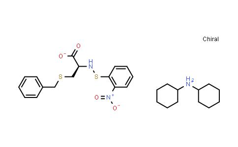 Dicyclohexylammonium (R)-3-(benzylthio)-2-(((2-nitrophenyl)thio)amino)propanoate