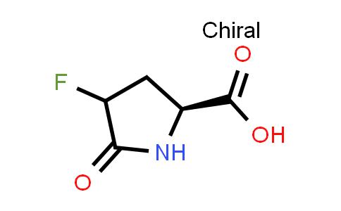 (2S)-4-Fluoro-5-oxopyrrolidine-2-carboxylic acid