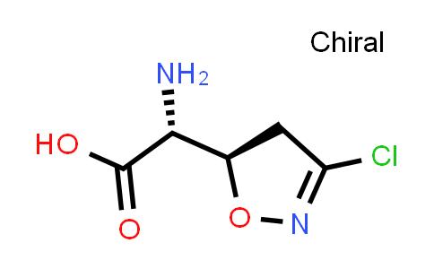 (R)-2-Amino-2-((R)-3-chloro-4,5-dihydroisoxazol-5-yl)acetic acid