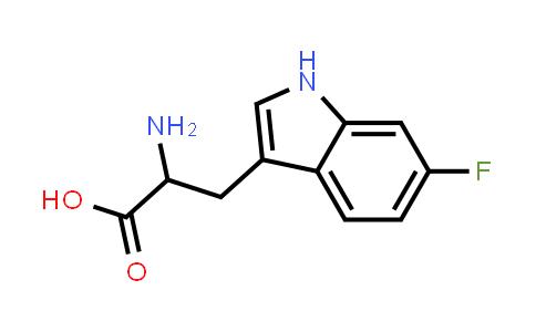 2-Amino-3-(6-fluoro-1H-indol-3-yl)propanoic acid