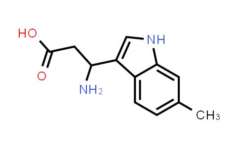 3-Amino-3-(6-methyl-1H-indol-3-yl)propanoic acid