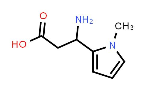 3-Amino-3-(1-methyl-1H-pyrrol-2-yl)propanoic acid