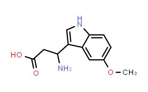 3-Amino-3-(5-methoxy-1H-indol-3-yl)propanoic acid
