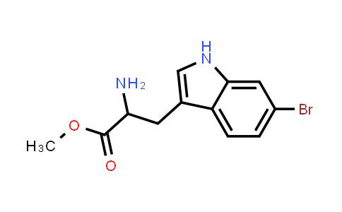 Methyl 2-amino-3-(6-bromo-1H-indol-3-yl)propanoate
