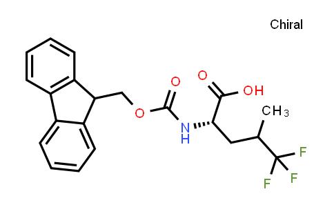 (2S)-2-((((9H-Fluoren-9-yl)methoxy)carbonyl)amino)-5,5,5-trifluoro-4-methylpentanoic acid