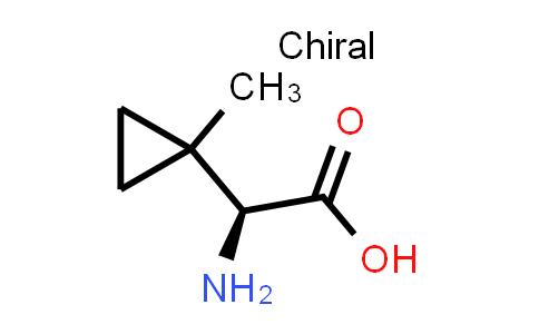(S)-2-Amino-2-(1-methylcyclopropyl)acetic acid