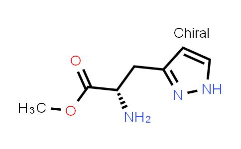 (S)-Methyl 2-amino-3-(1H-pyrazol-3-yl)propanoate