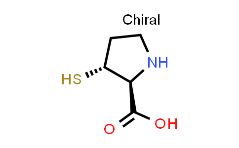 (2S,3R)-3-Mercaptopyrrolidine-2-carboxylic acid