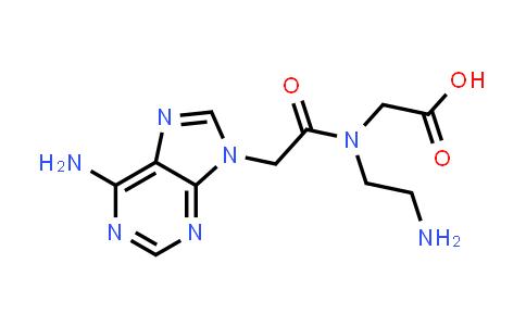 2-(2-(6-Amino-9H-purin-9-yl)-N-(2-aminoethyl)acetamido)acetic acid