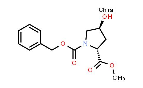(2R,4S)-1-Benzyl 2-methyl 4-hydroxypyrrolidine-1,2-dicarboxylate