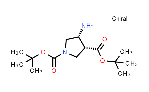 (3R,4R)-Di-tert-butyl 4-aminopyrrolidine-1,3-dicarboxylate