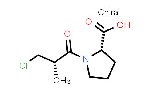(S)-1-((S)-3-Chloro-2-methylpropanoyl)pyrrolidine-2-carboxylic acid