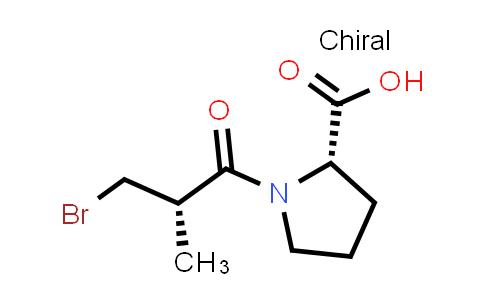 (S)-1-((S)-3-Bromo-2-methylpropanoyl)pyrrolidine-2-carboxylic acid