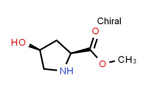 (2S,4S)-Methyl 4-hydroxypyrrolidine-2-carboxylate