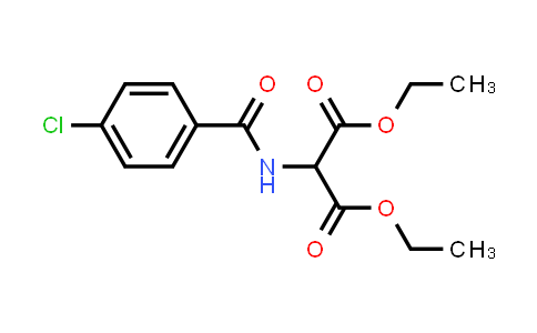 Diethyl 2-(4-chlorobenzamido)malonate