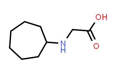 2-(Cycloheptylamino)acetic acid