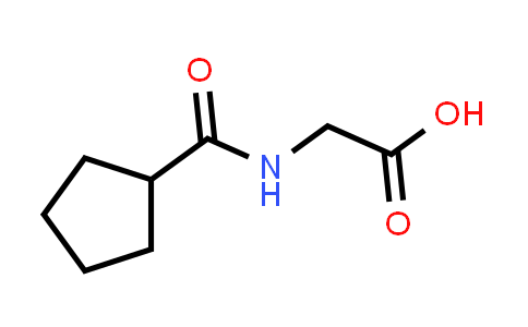 2-(Cyclopentanecarboxamido)acetic acid