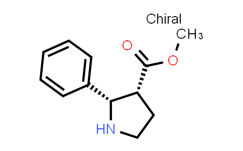 (2S,3R)-Methyl 2-phenylpyrrolidine-3-carboxylate