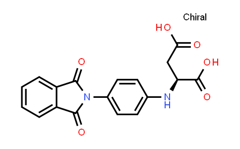 (S)-2-((4-(1,3-Dioxoisoindolin-2-yl)phenyl)amino)succinic acid