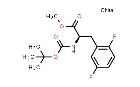 (R)-Methyl 2-((tert-butoxycarbonyl)amino)-3-(2,5-difluorophenyl)propanoate