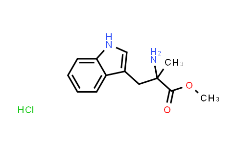Methyl 2-amino-3-(1H-indol-3-yl)-2-methylpropanoate hydrochloride