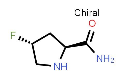 (2S,4R)-4-Fluoropyrrolidine-2-carboxamide