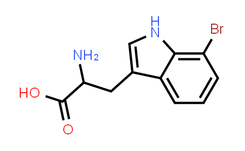 2-Amino-3-(7-bromo-1H-indol-3-yl)propanoic acid