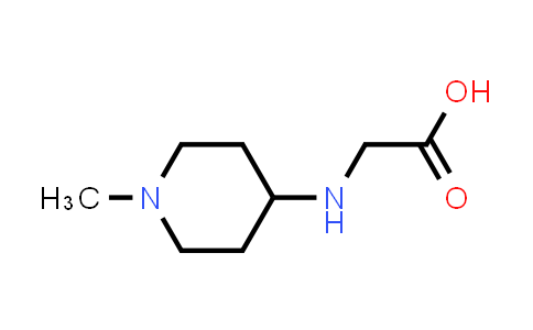 2-((1-Methylpiperidin-4-yl)amino)acetic acid