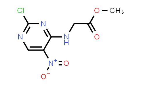 Methyl 2-((2-chloro-5-nitropyrimidin-4-yl)amino)acetate