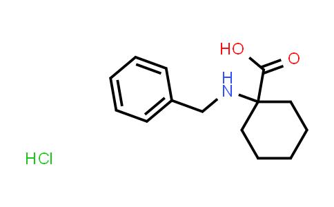 1-(Benzylamino)cyclohexanecarboxylic acid hydrochloride