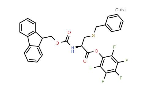 (R)-Perfluorophenyl 2-((((9H-fluoren-9-yl)methoxy)carbonyl)amino)-3-(benzylthio)propanoate