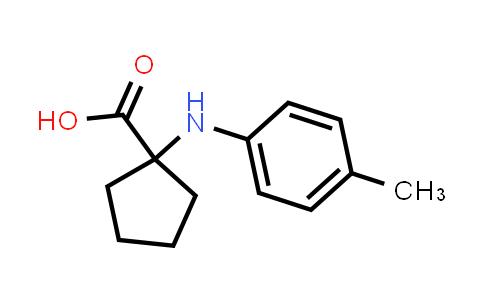 1-(p-Tolylamino)cyclopentanecarboxylic acid