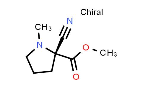 (R)-Methyl 2-cyano-1-methylpyrrolidine-2-carboxylate