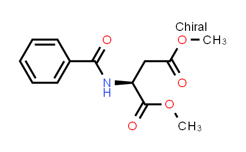 (S)-Dimethyl 2-benzamidosuccinate