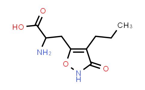 2-Amino-3-(3-oxo-4-propyl-2,3-dihydroisoxazol-5-yl)propanoic acid