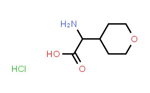 2-Amino-2-(tetrahydro-2H-pyran-4-yl)acetic acid hydrochloride