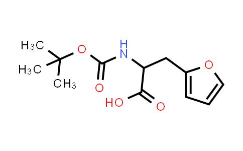 2-((tert-Butoxycarbonyl)amino)-3-(furan-2-yl)propanoic acid